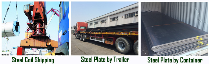 ASTM A285 Steel Plate Delivery