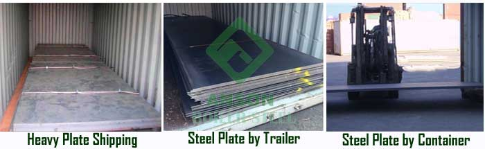 P265GH Steel Plate Delivery