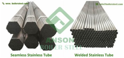 Stainless welded tube used for heat exchanger